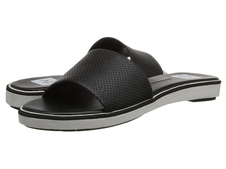DV by Dolce Vita - Breeze (Black Leather) Women's Slide Shoes