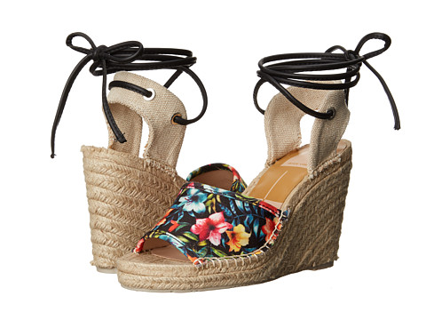 Dolce Vita - Sophia (Tropical Floral Canvas) Women's Wedge Shoes