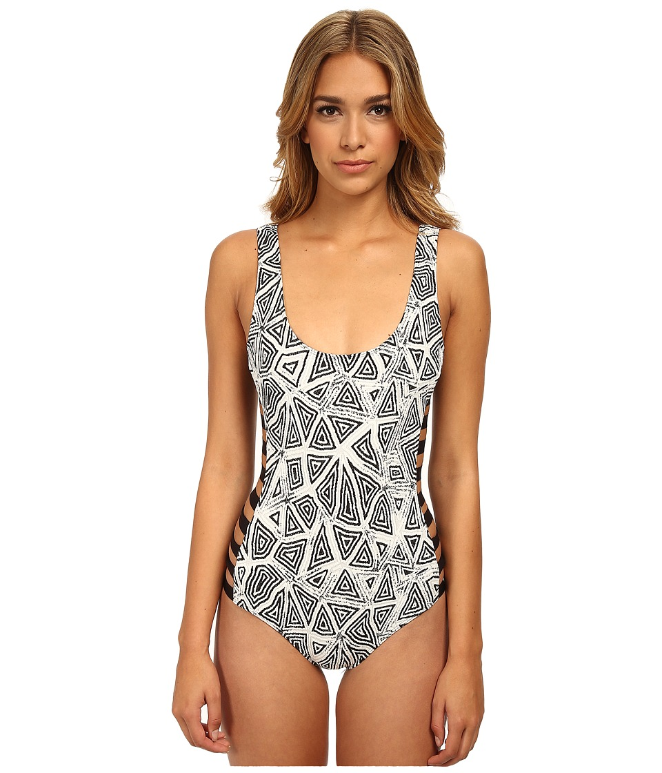 Beach Riot - The Castaway One-Piece (Skipper) Women's Swimsuits One Piece