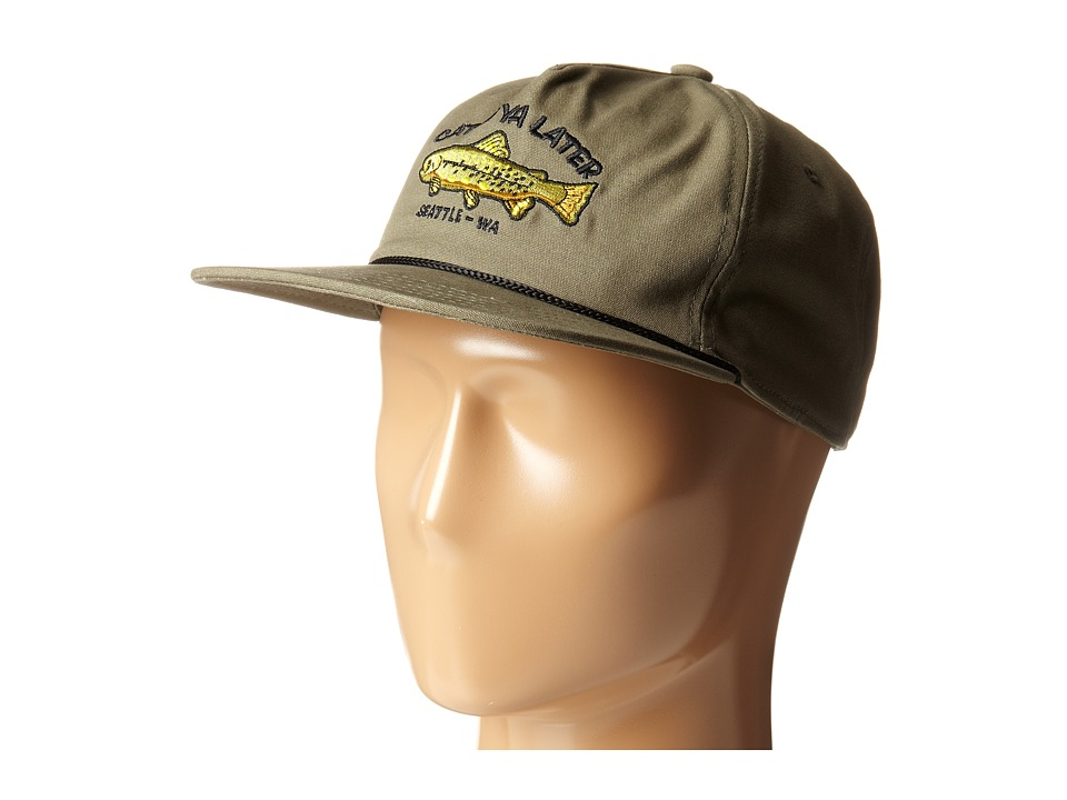 Coal - The Great Outdoors (Olive) Baseball Caps