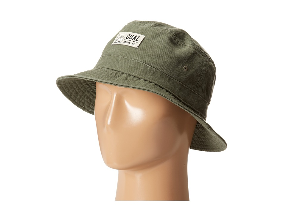 Coal - The Ernie (Olive) Baseball Caps