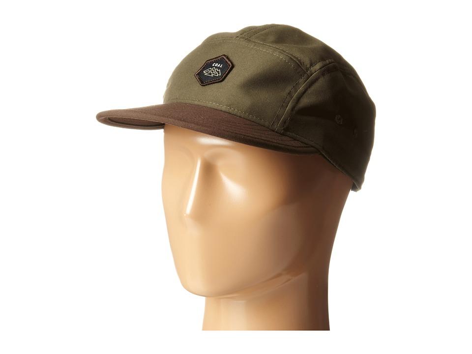 Coal - The Elwha (Olive) Baseball Caps