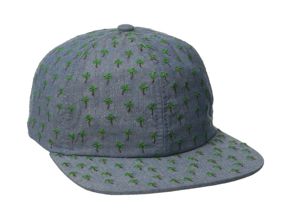 Coal - The James (Palm) Baseball Caps