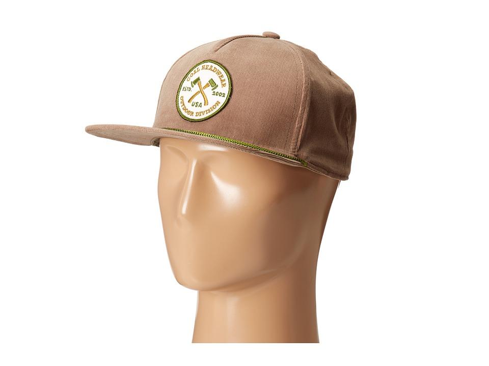 Coal - The Hatchet (Light Brown) Caps