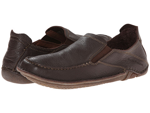 Hush Puppies - Keenan Roller (Brown Leather) Men