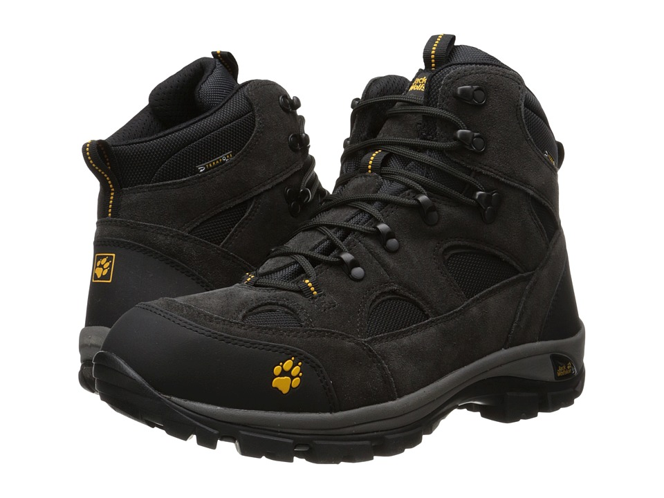 Jack Wolfskin - All Terrain Texapore (Nearly Black) Men's Hiking Boots