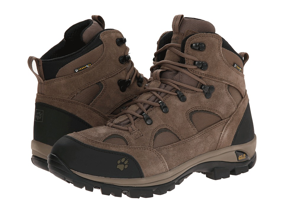 Jack Wolfskin - All Terrain Texapore (Siltstone) Men's Hiking Boots