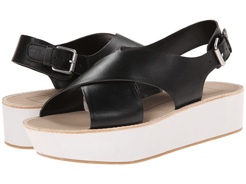 Dolce Vita - Ziggie (Black Leather) Women's Sandals