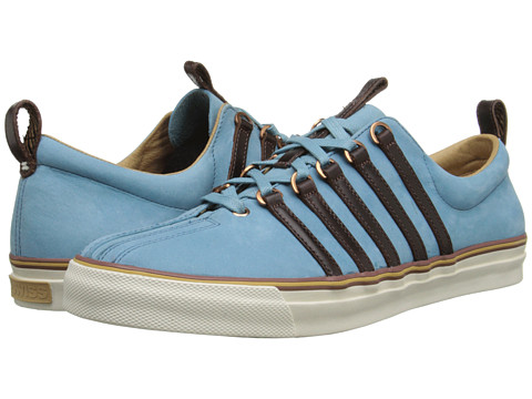 K-Swiss by Billy Reid - Arlington NL (Blue Heaven Nubuck/Cinnamon Leather) Men's Shoes