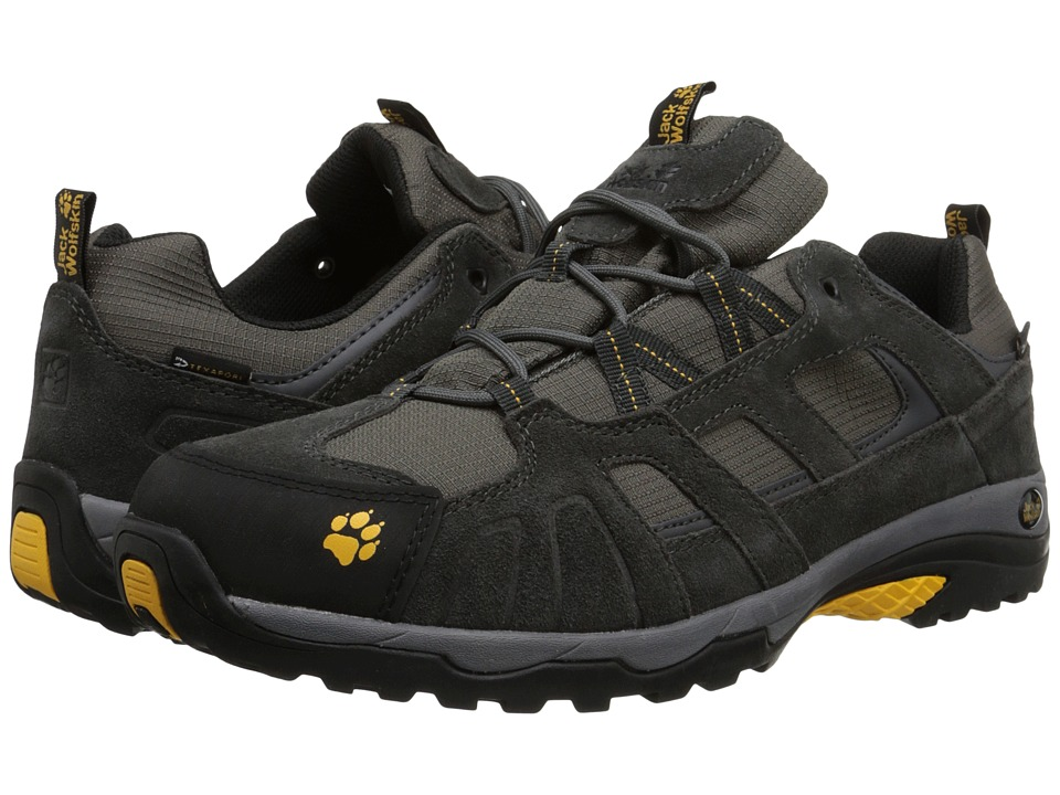 Jack Wolfskin - Vojo Hike Texapore (Burly Yellow) Men's Shoes