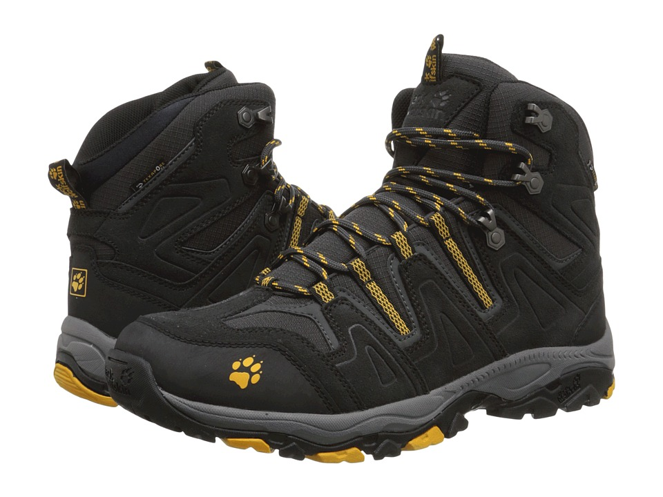 Jack Wolfskin - Mountain Attack Mid Texapore (Burly Yellow) Men's Shoes