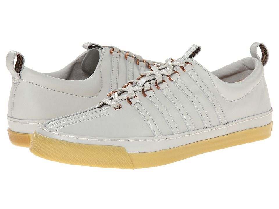 K-Swiss by Billy Reid - Arlington VT (White Veg Tan Leather/Light Gum) Men's Shoes