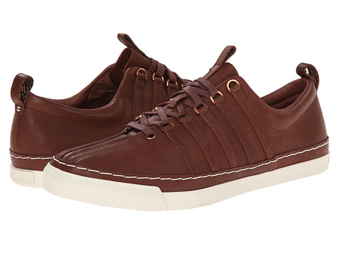 K-Swiss by Billy Reid - Arlington VT (Cinnamon Veg Tan Leather/Whisper White) Men's Shoes