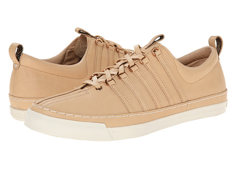 K-Swiss by Billy Reid - Arlington VT (Sheepskin Veg Tan Leather/Whisper White) Men's Shoes