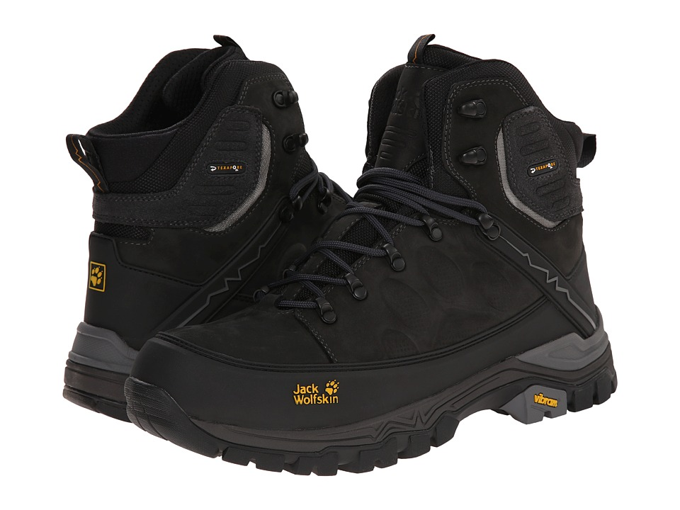 Jack Wolfskin - Impulse Pro Texapore O2+ Mid (Phantom) Men's Hiking Boots