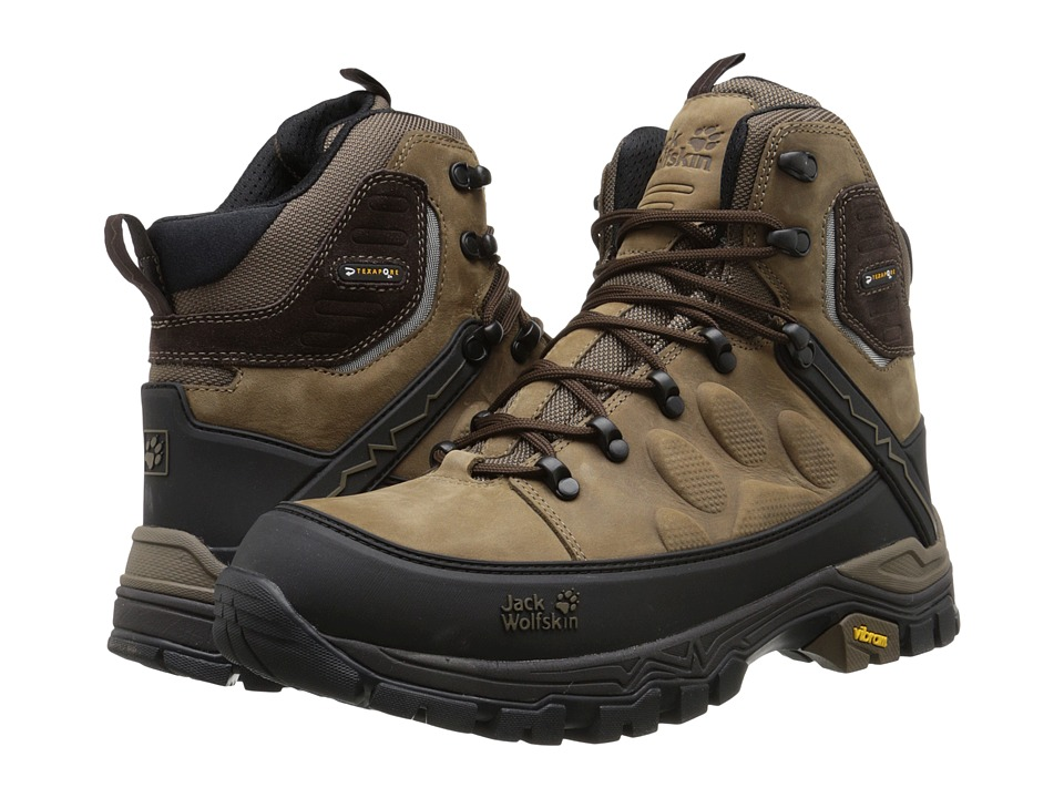 Jack Wolfskin - Impulse Pro Texapore O2+ Mid (Mocca) Men's Hiking Boots
