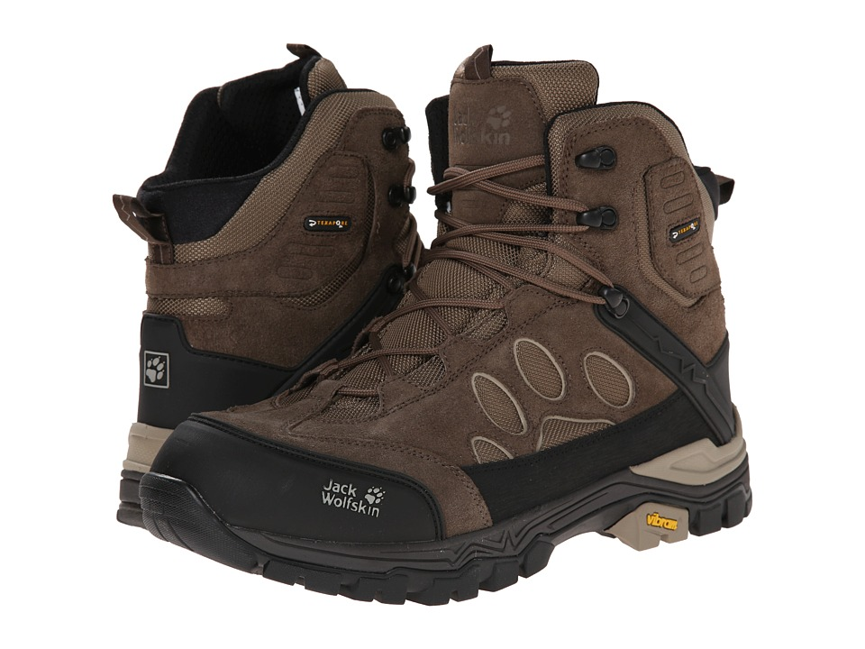 Jack Wolfskin - Impulse Texapore O2+ Mid (Siltstone) Men's Shoes