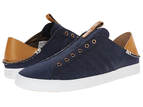 K-Swiss by Billy Reid - Belmont SLO NL (Navy Nubuck/Sheepskin Leather) Men's Shoes
