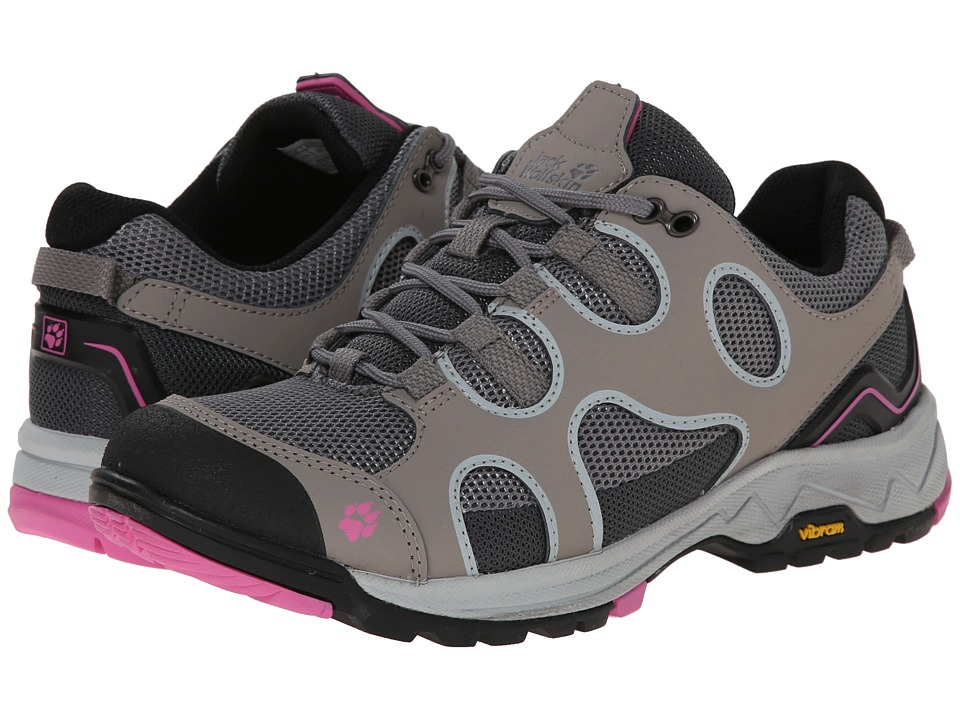 Jack Wolfskin - Crosswind Low (Pink Hortensia) Women's Shoes