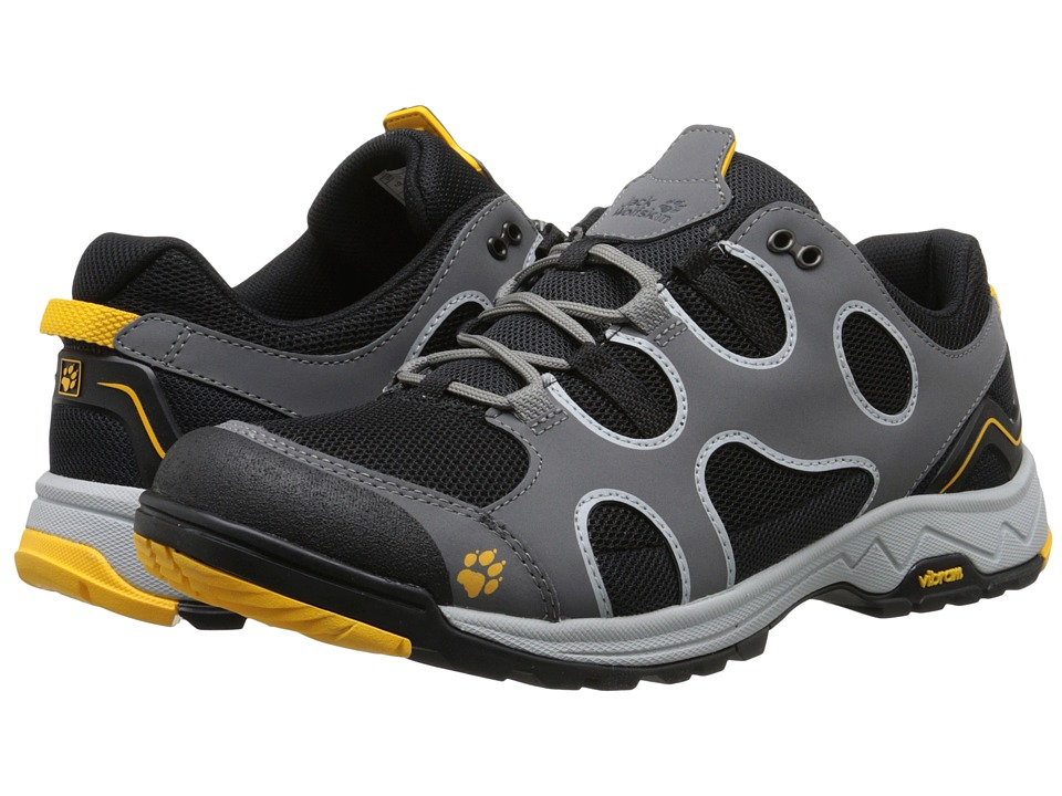 Jack Wolfskin - Crosswind Low (Burly Yellow) Men's Shoes