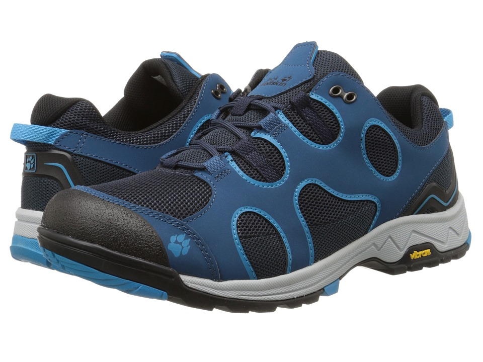 Jack Wolfskin - Crosswind Low (Moroccan Blue) Men's Shoes
