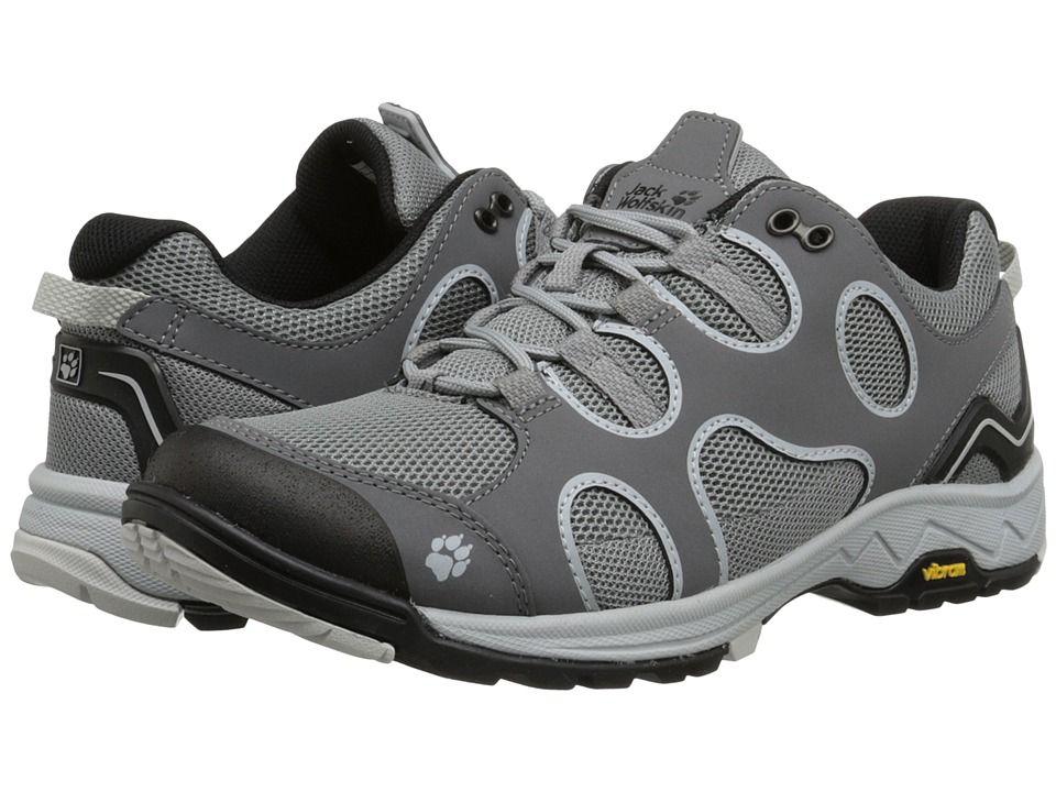 Jack Wolfskin - Crosswind Low (Grey Haze) Women's Shoes