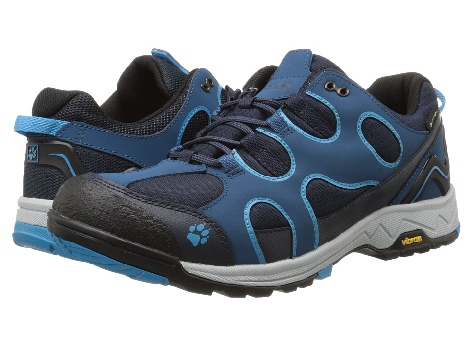 Jack Wolfskin - Crosswind Texapore O2+ Low (Moroccan Blue) Men's Shoes