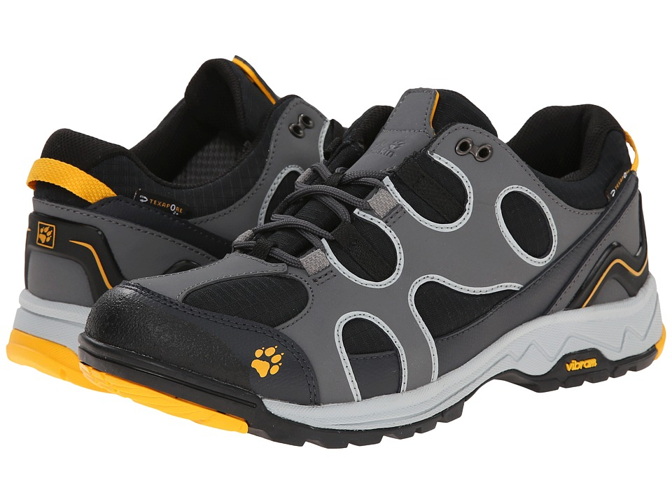 Jack Wolfskin - Crosswind Texapore O2+ Low (Burly Yellow) Men's Shoes