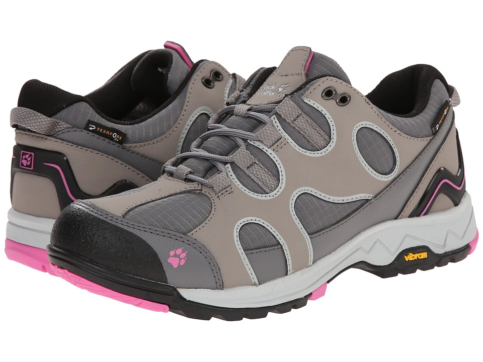 Jack Wolfskin - Crosswind Texapore O2+ Low (Pink Hortensia) Women's Shoes