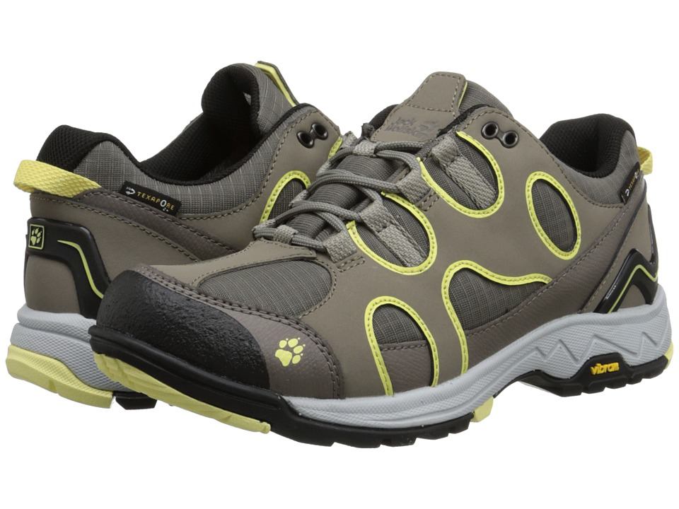 Jack Wolfskin - Crosswind Texapore O2+ Low (Lemonade) Women's Shoes