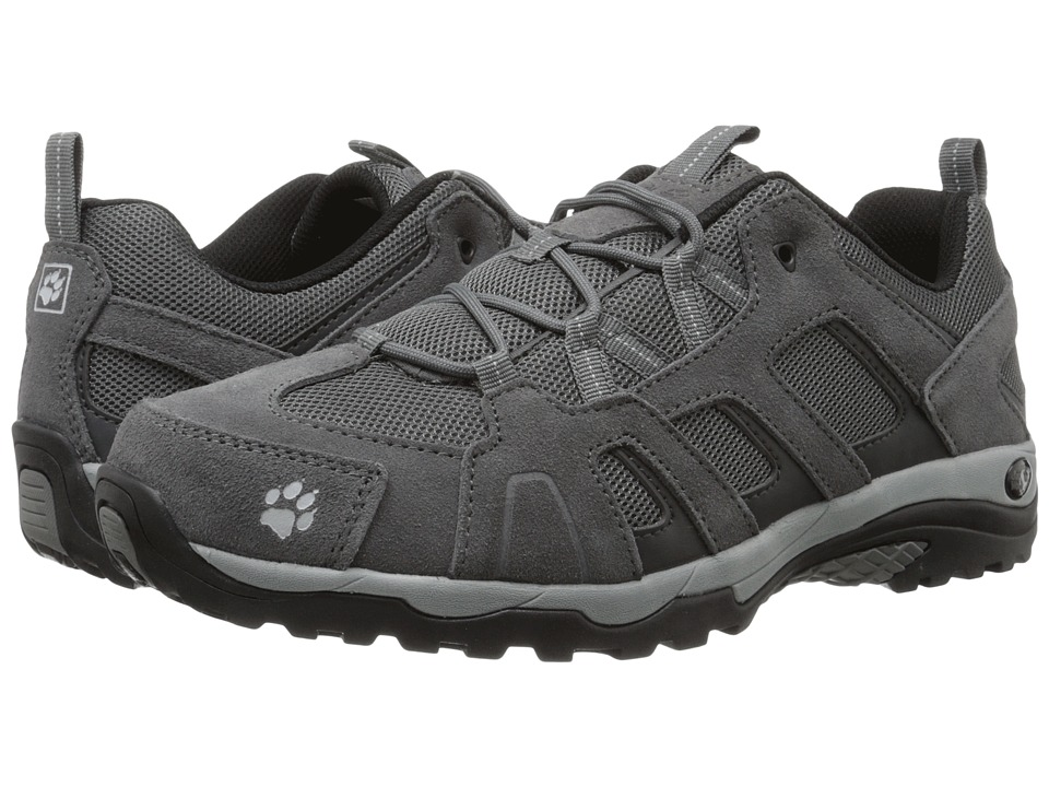 Jack Wolfskin - Vojo Hike Low (Silver Grey) Men's Shoes