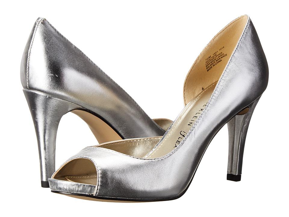 Anne Klein - Octavie (Silver Leather) High Heels