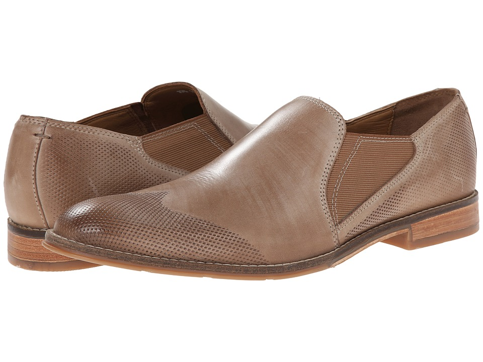Hush Puppies Olaf Style (Taupe Leather) Men