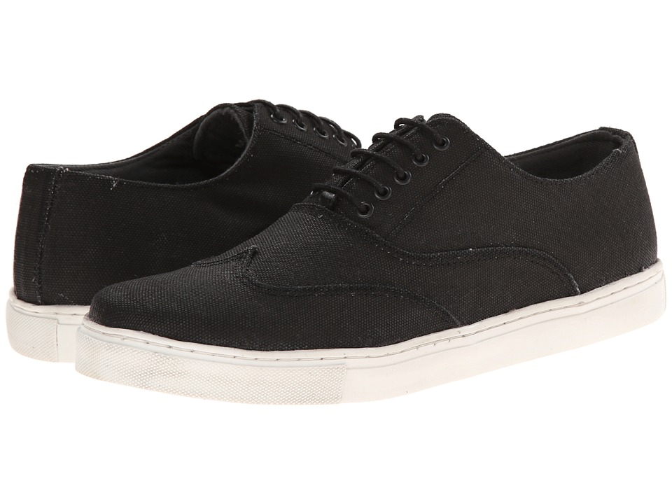 Kenneth Cole Unlisted - Clay-M To Fame (Black Canvas/Synthetic) Men's Shoes