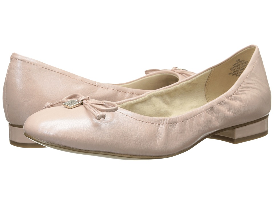 Anne Klein - Petrica (Light Pink Leather) Women's Flat Shoes