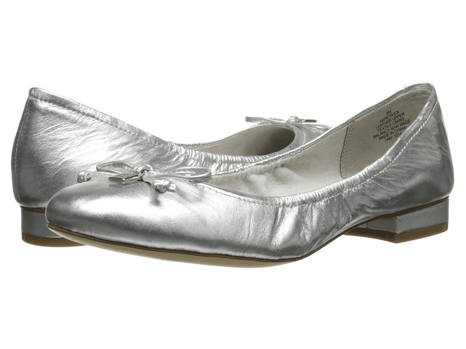 Anne Klein - Petrica (Silver Leather) Women
