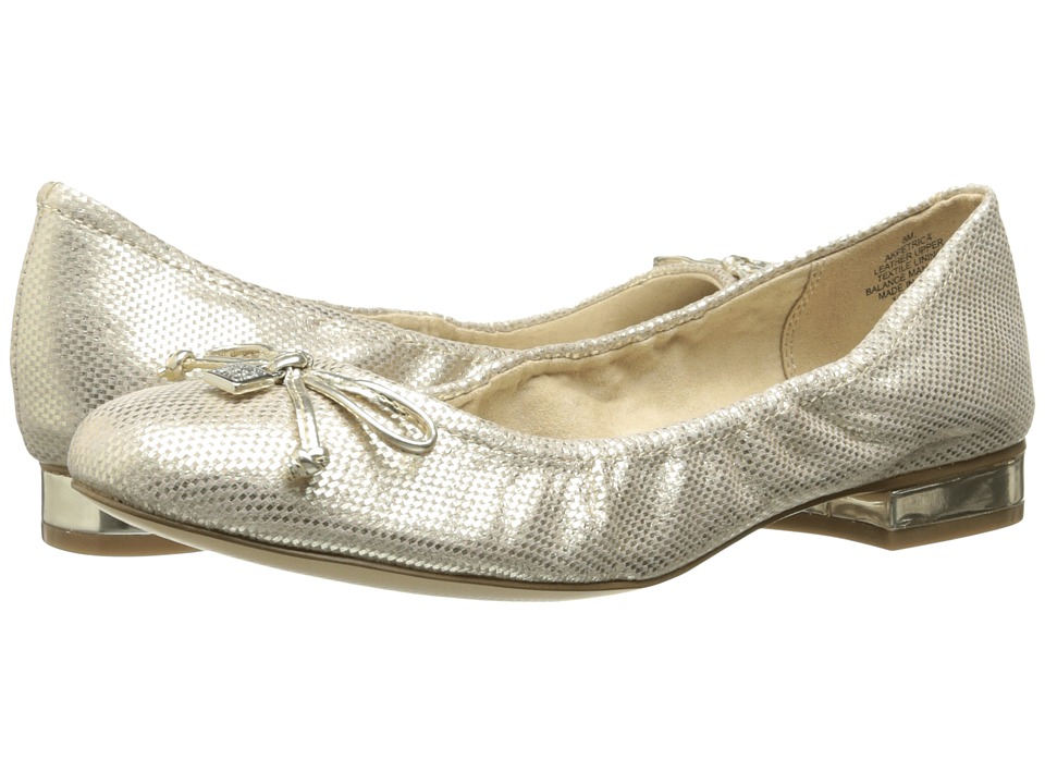Anne Klein - Petrica (Gold Sprinkles) Women's Flat Shoes