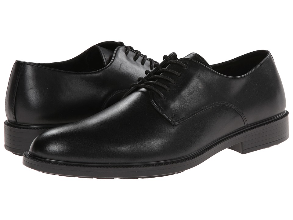 Hush Puppies Ivan Banker (Black WP Leather) Men