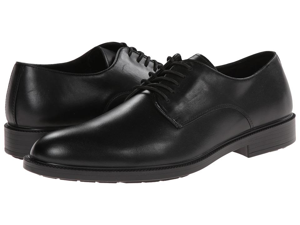 Hush Puppies Ivan Banker (Black WP Leather) Men