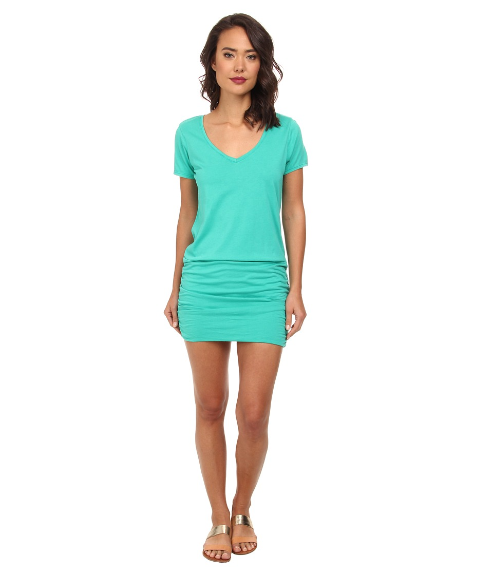 Michael Stars - Short Sleeve V-Neck Dress (Dragonfly) Women