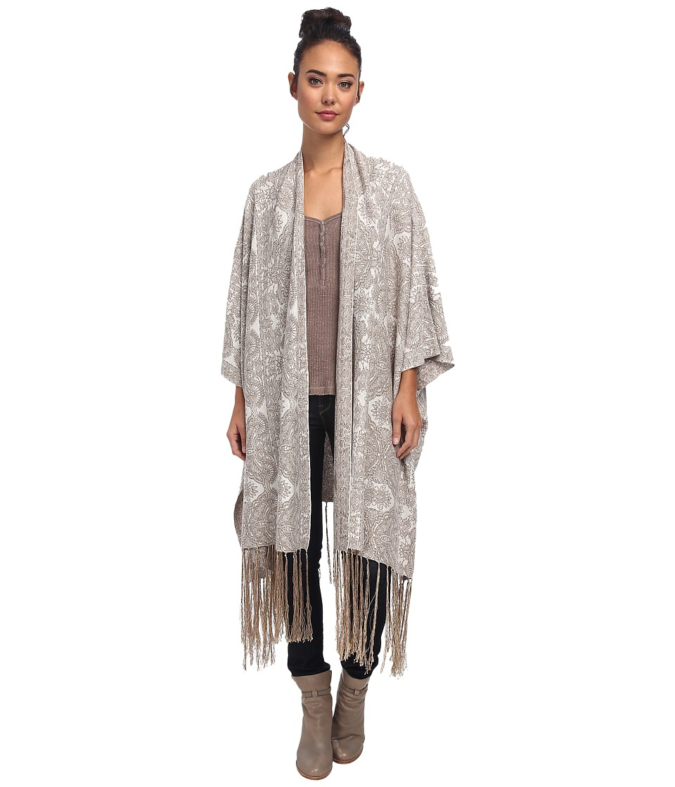 Free People - Hendrix Cardigan (White Gold Combo) Women