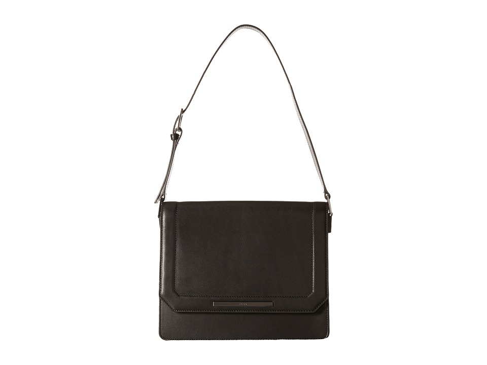 ECCO - Glade Handbag (Black) Shoulder Handbags