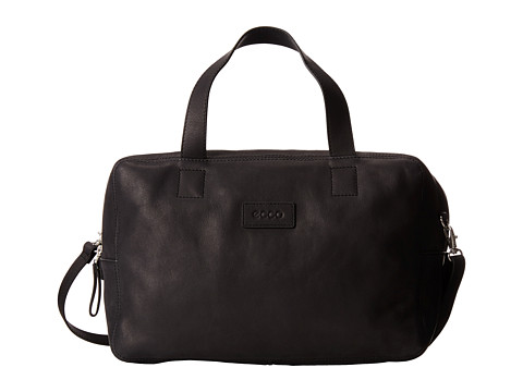 ECCO - Barra Bowling Bag (Black) Top-handle Handbags