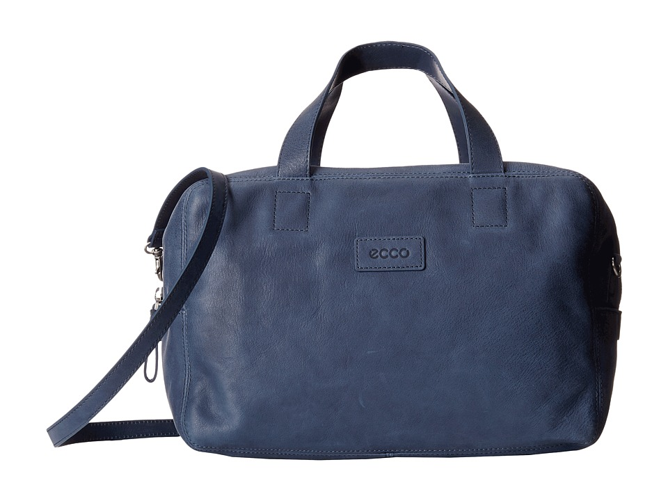 ECCO - Barra Bowling Bag (True Navy) Top-handle Handbags