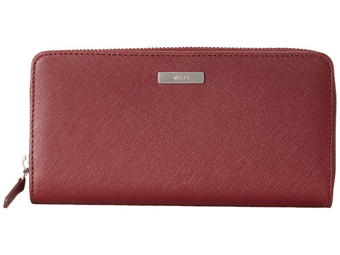 ECCO - Firenze Large Zip Wallet (Morillo) Wallet Handbags