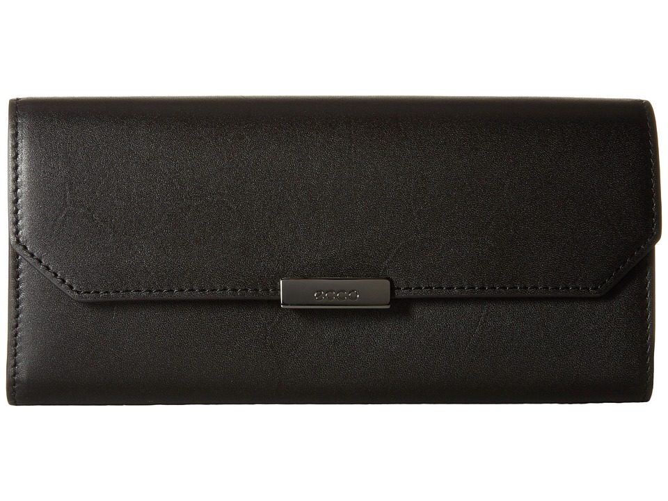 ECCO - Glade Continental Wallet (Black) Wallet Handbags
