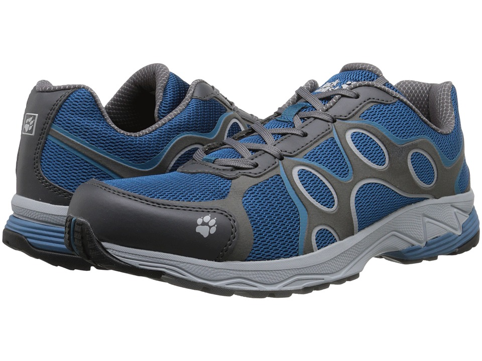 Jack Wolfskin - Venture Trail Low (Moroccan Blue) Men's Shoes