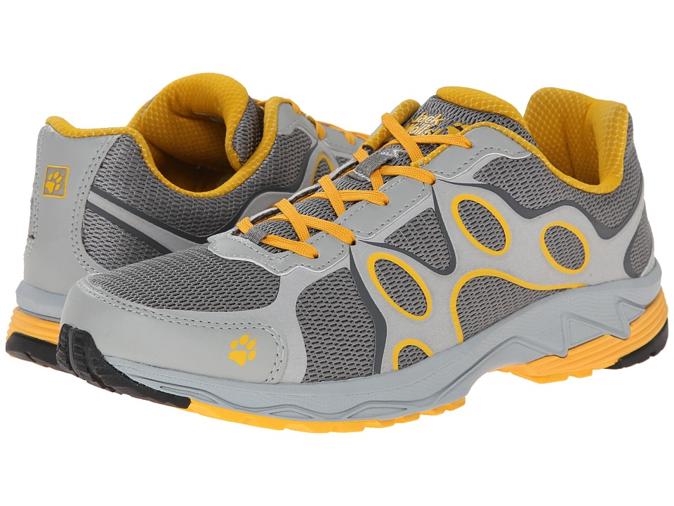 Jack Wolfskin - Venture Trail Low (Burly Yellow) Men's Shoes