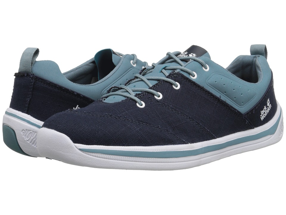 Jack Wolfskin - Laconia Low (Blue Granite) Men's Shoes