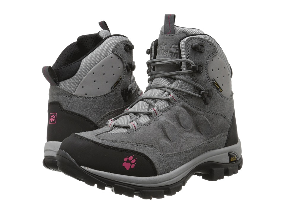 Jack Wolfskin - Advance Texapore O2+ Mid (Tarmac Grey) Women's Shoes
